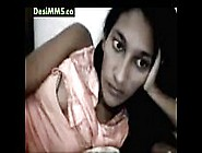 Sexy Young Desi Teen Girl Showing Off Her Tits For Chat Lover On