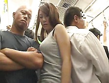 Big Boobs Girl Molested On A Train