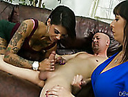 Shameless Mommy Teaches Her Unskilled Slutty Daughter How To Blo
