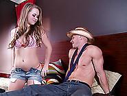 Big Ass Teen Cutie Fucks The Farmhand With The Big Dick