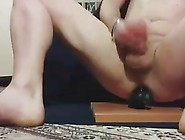 Huge Anal Dildo In The Ass Till I Cum Solo