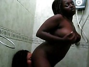 African Black Lesbians - 2 Hot African Lesbians Nauhgty In Showe