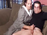 Slut Came To My Room Just To Give Me This Amazing Handjob