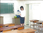 Japanese Busty Teacher Gets Fucked By A Horny Student