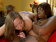 Chubby Chick Gets Fucked Hard By A Horny Black Shemale Jayla Mar