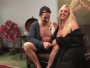 Dominated Bloke Has Strapon Shaged By Giant Breasted Alexis Gold