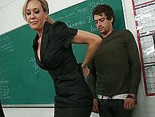 Teacher Brandi Love Amazes Stud With Raw And Lusty Cowgirl Ridin