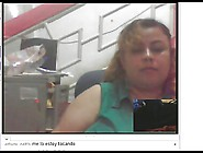 Ecuatoriana Viendo Pene Por Webcam