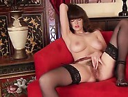 Hairy Pussy On A Damn Hot Brunette Looks Perfect