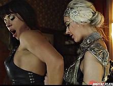 Two Super Hot Sexy Lesbians Are Experts In Ass Licking