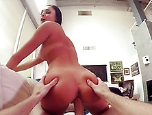 Ariana Marie Enjoys Bouncing On A Fellow's Massive Boner