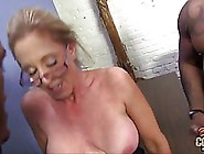 Busty Blonde Woman With Glasses,  Jenna Covelli Likes To Have Sex