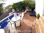 Hd Povd - Blonde Lola Reve Gets Fucked By The Pool Pov Style