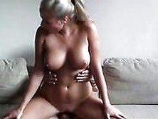 Horny Blonde With Amazing Tits In Czech Amateurs