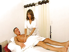 asian masseuse gives a massage with a happy ending Vista, California