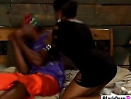 Cougar Black Girl Feeding Her Mature Pussy With Young Massive Eb