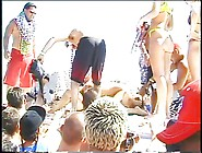 Hotties Getting Crazy At Beach Side