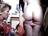 Teen Gets Enema From Her Dirty Mom