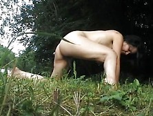 Outdoor Pee And Sex Couple