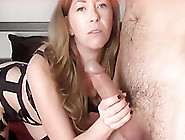 Naughty Cougar Having Fun With A Young Dude
