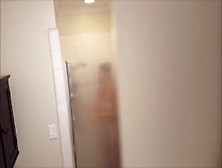 Spying On Mom Taking A Shower