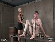 Kinky Mistress London River Punishes Her Tied Up Man In The Bdsm