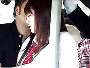 Japanese School Girl Groped And Fucked In Bus