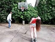 Big Ass Huge Tits Girl Sucking On Giant Black Cock