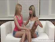 Double Anal Debut For Teens