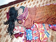 Indian House Wife Sharing Bed With Her Husband Friend When His H