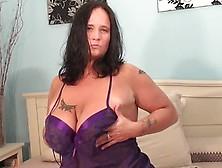 Big Breasted Mature Slut Squirts Like A Firehose