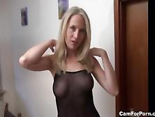 German Blonde Milf Anal Pov