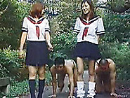 Piss; Japanese Toilet Girls Dominate Male Slave