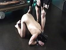 German Mistress Gives Slave Good Session