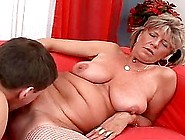 A Rough Fuck With A Big Fat Cock For A Kinky Granny