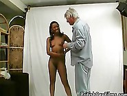 Porn Casting Call Has This African Girl Masturbating On Camera