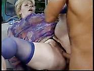 German Granny Fucked By Black Man