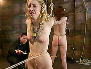 Lilla Katt And Nicki Blue Enjoy Being Tormented In A Basement