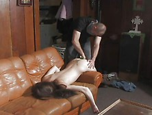image Greiving widow gets oral creampie from dead husbands friend