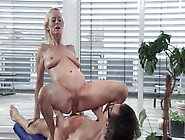 Stunning Thick Ass Blonde Busty Getting Her Cunt Banged In Hardc