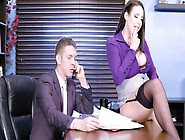 Secretary Babe Needs To Be Fucked So She Engages Her Boss
