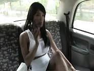 Busty Ebony Escort Fucked In Taxi On Spycam