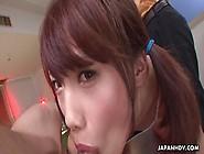 Asian Cute Teen Has A Fat Dick She Sucks Close Up