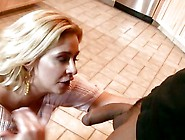 Phyllisha Anne Rub The Son Law's Cock In The Kitchen