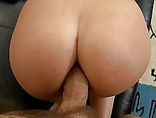 Slutty Brunette Girl Takes Big Dick In Her Tight Ass