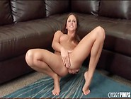 Cute Pornstar Gets Naked To Fuck A Toy