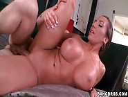 Big Lips And Tits On Hot Cocksucking Milf