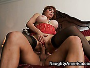 The Wild Cougar Bounces On That Cock With Excitement And Screams