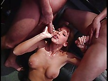 British Milf Nici Stirling Gets A Dp In Stockings
