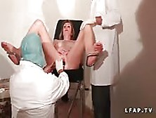 Female Patient Fisted And Examined